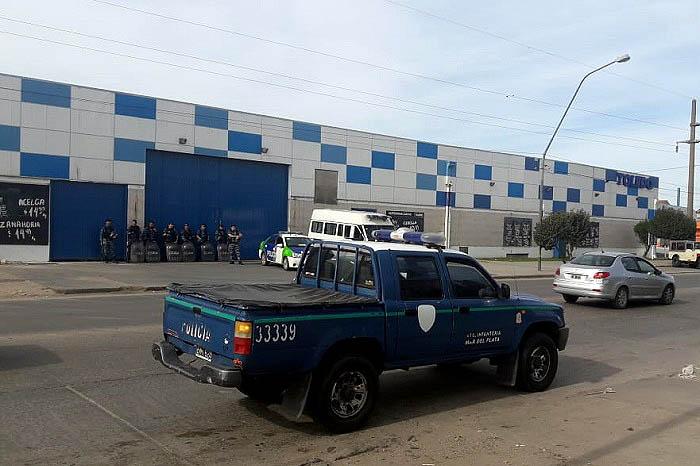 Importante operativo para evitar nuevos saqueos en Mar del Plata