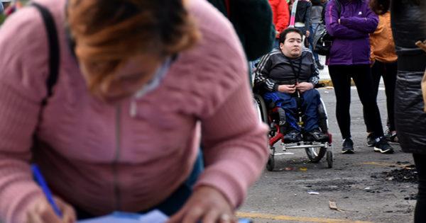 Exigen respuestas al Estado por los certificados de discapacidad