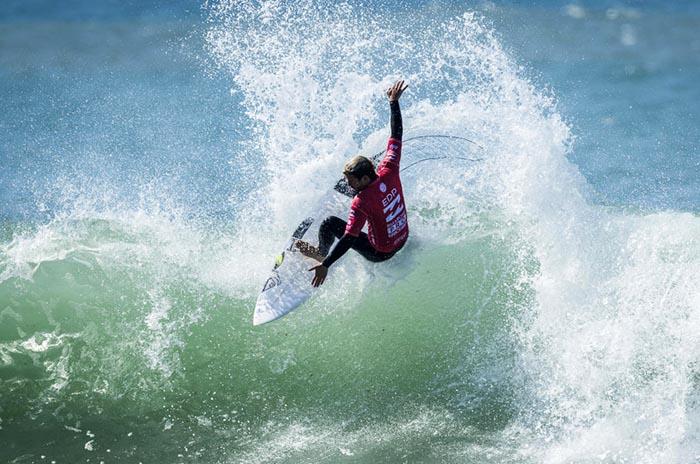 """La """"triple corona"""" del surf, con presencia marplatense"""