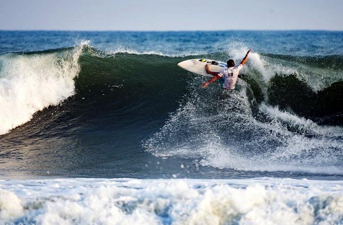 Surf  Santiago Muñiz Ben Reed ISA