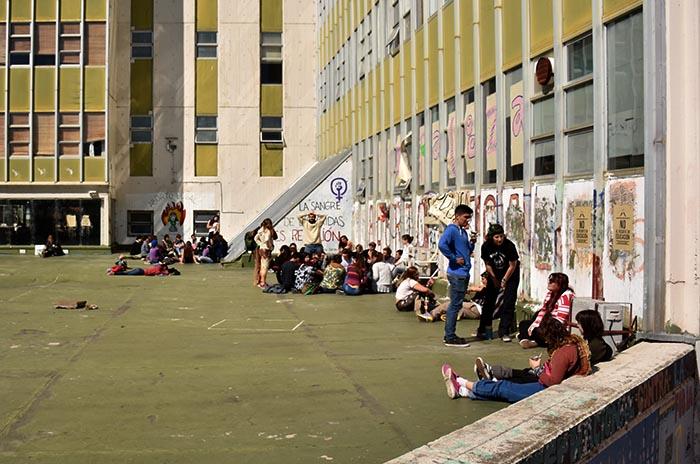 UNMdP: docentes vuelven a dar clases pero siguen las tomas