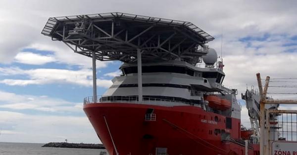 ARA San Juan: el Seabed Constructor ya llegó a Sudáfrica