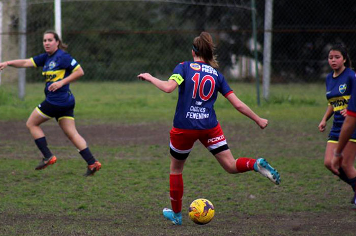 Fútbol Femenino: con varias goleadas, se disputó la sexta fecha