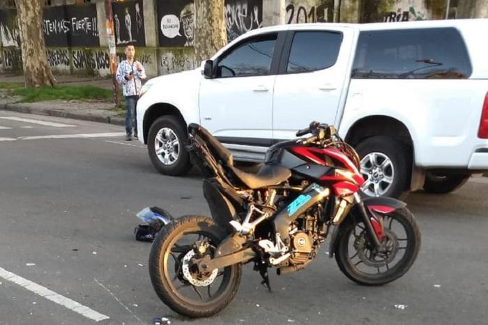 Un motociclista herido tras ser chocado por conductor borracho