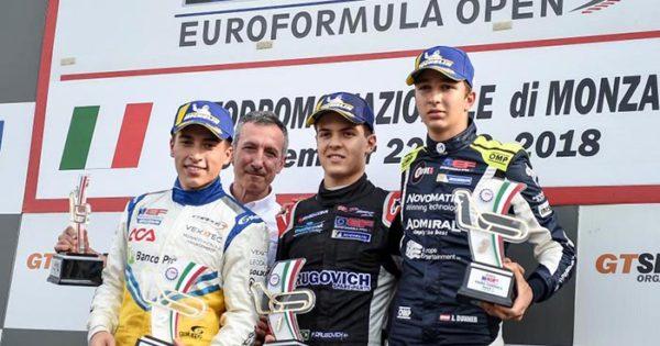 Marcos Siebert consiguió un segundo puesto en Monza