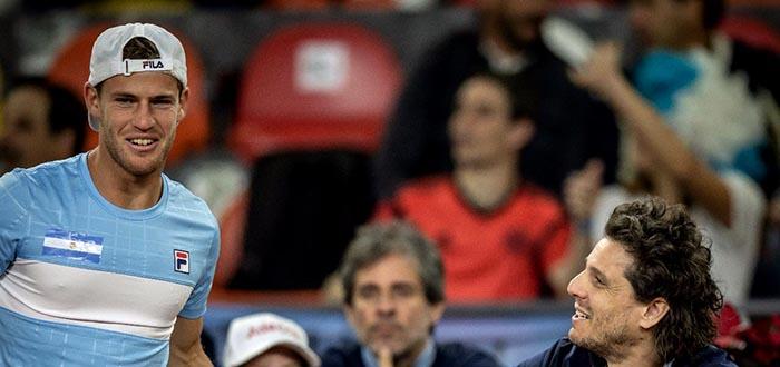 Copa Davis: Pella y Schwartzman dejaron la serie 2-0 ante Colombia