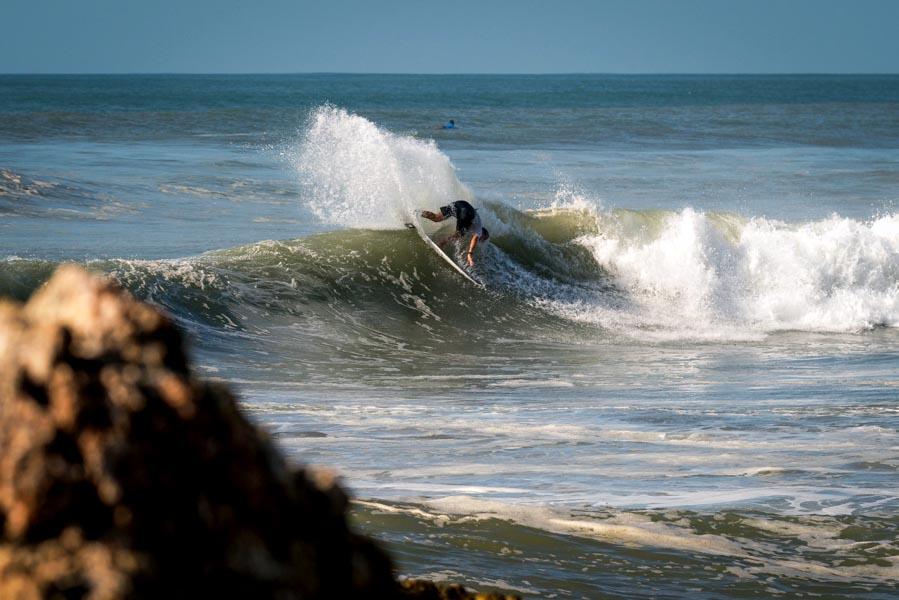 "Surf: ""Nacho"" Gundesen se despidió en la cuarta ronda"