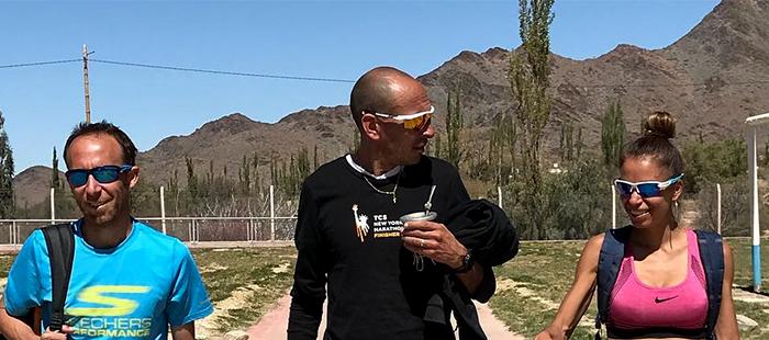 Mastromarino y Peralta, listos para correr el Sudamericano de Maratón