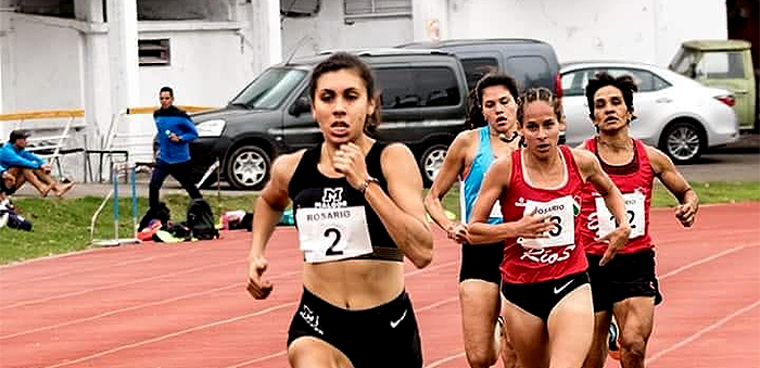 Levaggi, campeona sudamericana sub 23 en 1500 metros