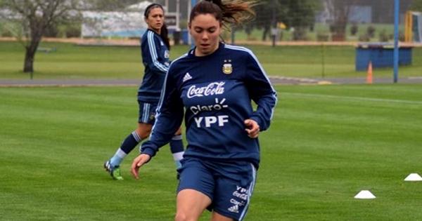 Milagros Menéndez concentra nuevamente con la Selección