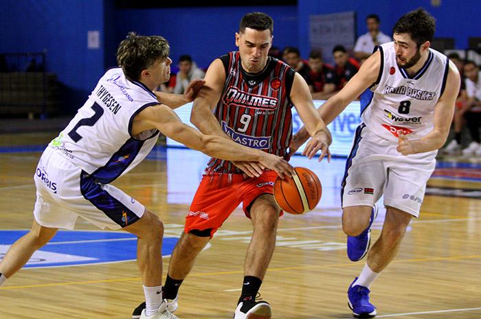 Quilmes no pudo con Bahía Basket en el inicio del repechaje