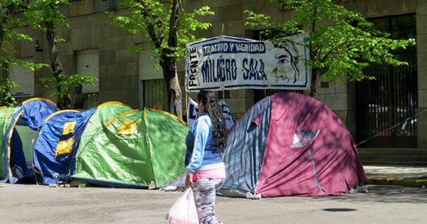 """Un nuevo acampe en el Municipio: """"Las necesidades están ahora"""""""