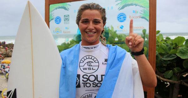 Josefina Ané cerró un gran año en la Liga Mundial de Surf