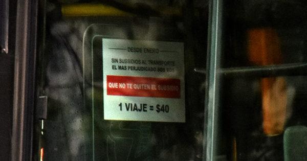 """Sin subsidio, ¿boleto a $40?: en el HCD dicen que """"no da ese valor"""""""