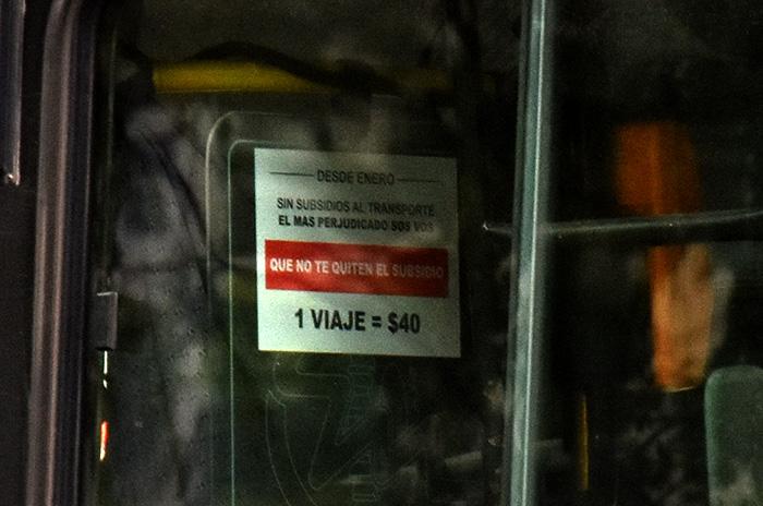"""¿Boleto a $40?: """"Los carteles son para ayudar a Mar del Plata"""""""