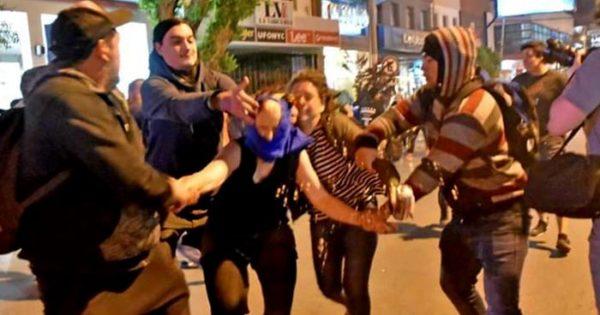 Una marplatense detenida en el Encuentro de Mujeres