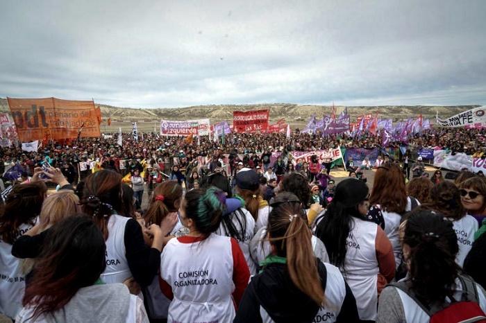 Encuentro nacional de mujeres Chubut Trelew2
