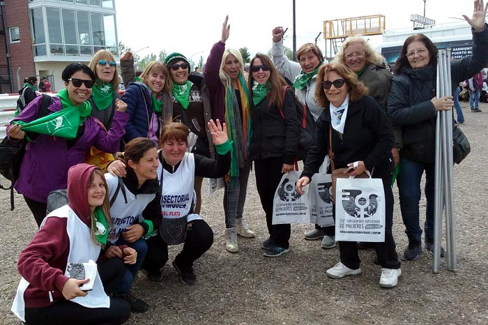 Encuentro nacional de mujeres Chubut Trelew3
