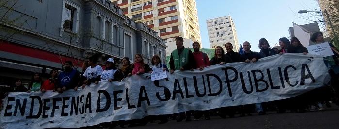 Marcha Federal: la defensa de la salud pública, de las calles al G20