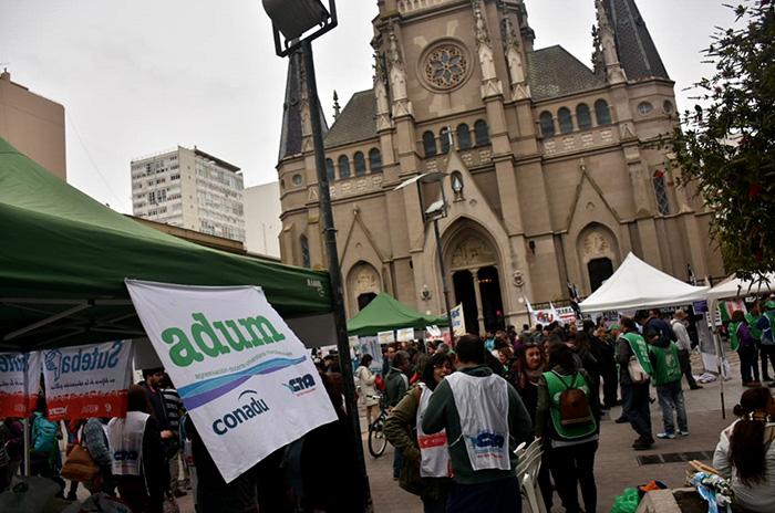 Día de protestas en Mar del Plata contra el Presupuesto 2019
