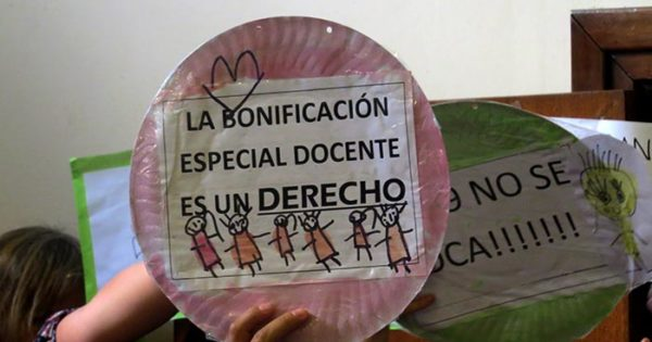 Bonificación docente: una cautelar contra el decreto de Arroyo