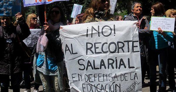 La ordenanza que devolvía la bonificación docente, suspendida