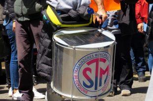 Trabajadores municipales confirmaron el paro de 72 horas a partir del lunes