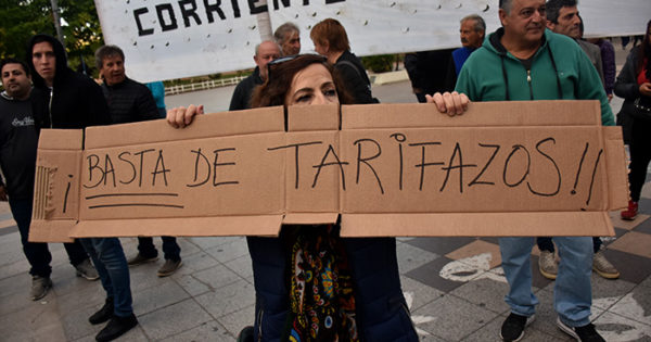 Tarifazos: convocan a movilizarse contra el aumento del gas