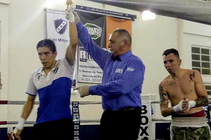 Boxeo: Rojas fue el ganador del quinto festival de Alvarado