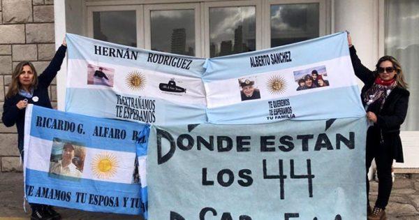 "Submarino ARA San Juan: ""Otra vez ignorados por el presidente"""
