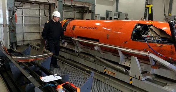 La búsqueda avanzará sobre la derrota del submarino