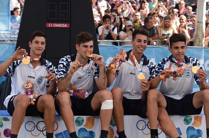 Buenos Aires 2018: De La Fuente campeón olímpico en básquet 3×3