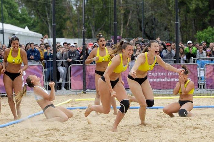 Buenos Aires 2018: Argentina a semifinales en handball playa
