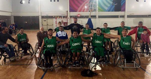 Cideli busca la final de la Liga Nacional de básquet adaptado