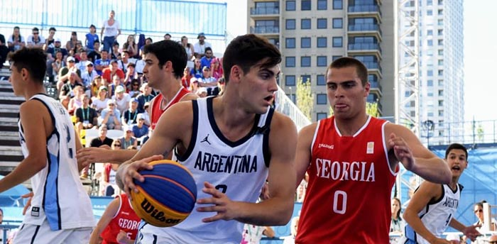 Buenos Aires 2018: De La Fuente a semifinales del básquet 3×3