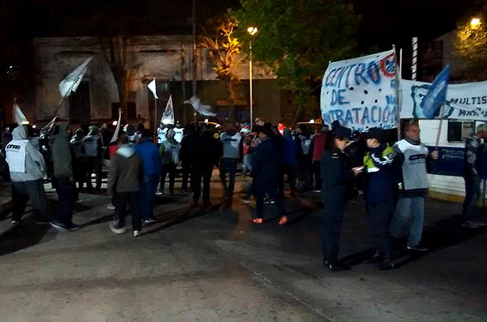 Ferroautomotora: protesta por despidos y precarización