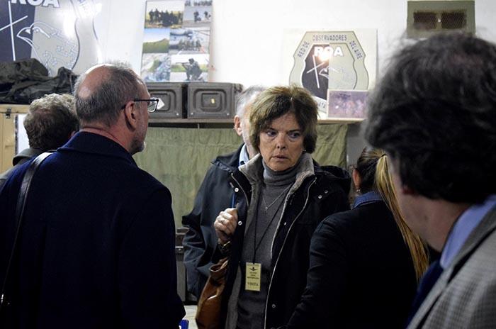 """Inspección ocular en La Cueva:  """"Que nunca más vuelva a pasar"""""""