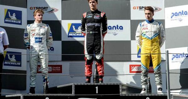 Marcos Siebert terminó la Eurofórmula en el tercer puesto
