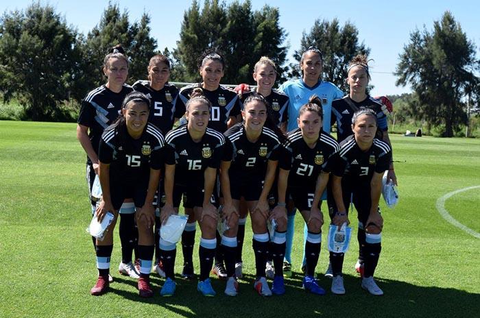 La Selección Argentina juega el primer partido del repechaje