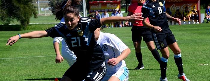 Menéndez fue titular en el segundo amistoso ante Uruguay