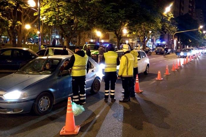 Varios conductores quebraron la tolerancia cero el fin de semana