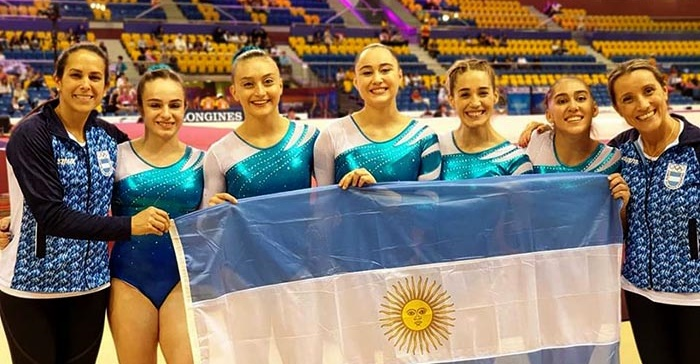 Buen comienzo argentino en el Mundial de Gimnasia Artística
