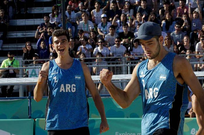 Vóley playa: Argentina quedó a un paso de Tokio 2020