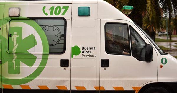 Demora de las ambulancias: el gobierno pide que se llame al 107