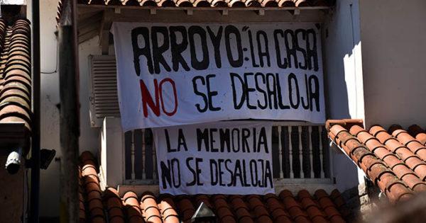 """Casa de la Memoria: a ocho meses, el desalojo """"sigue latente"""""""