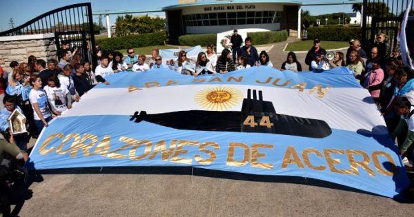 ARA San Juan: fijan audiencia para mostrar imágenes a familiares
