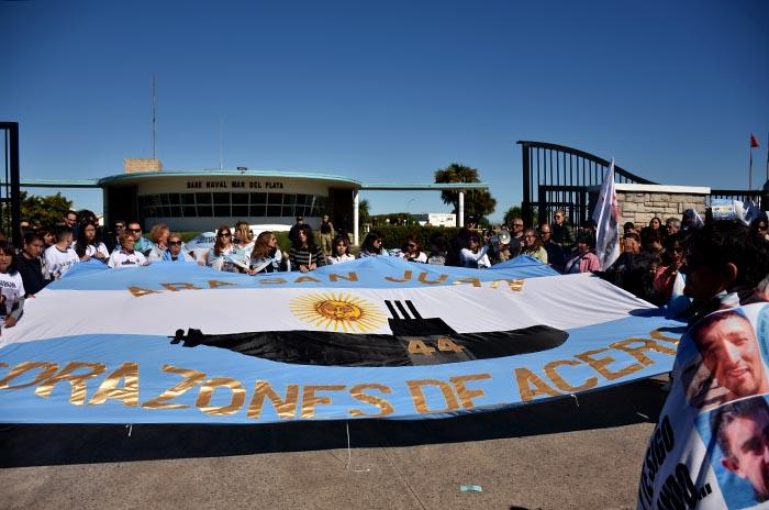 ARA San Juan: malestar de familiares con la jueza de la causa