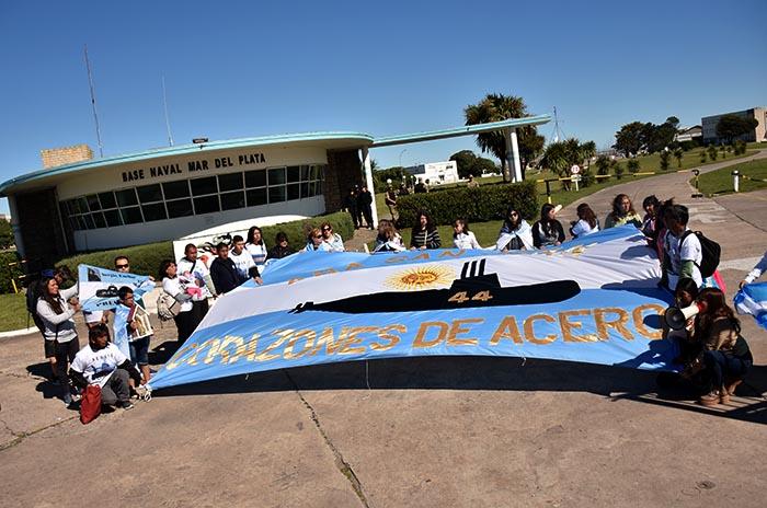 La AFI denuncia espionaje ilegal en Mar del Plata a los familiares del ARA San Juan