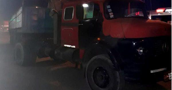 Camionero manejaba totalmente borracho por Champagnat