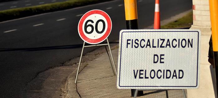 Este sábado empiezan las multas por exceso de velocidad
